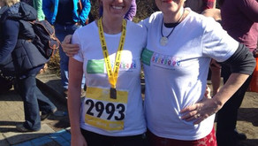 Beth's Runs Half Marathon in Memory of Anna