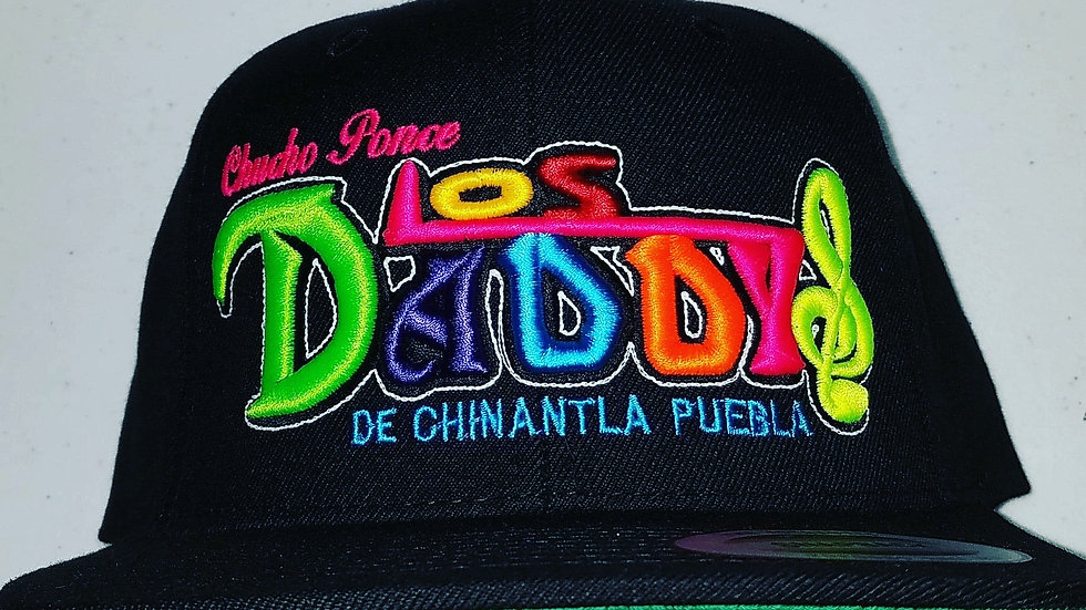 Los Daddys Snap Back multi color