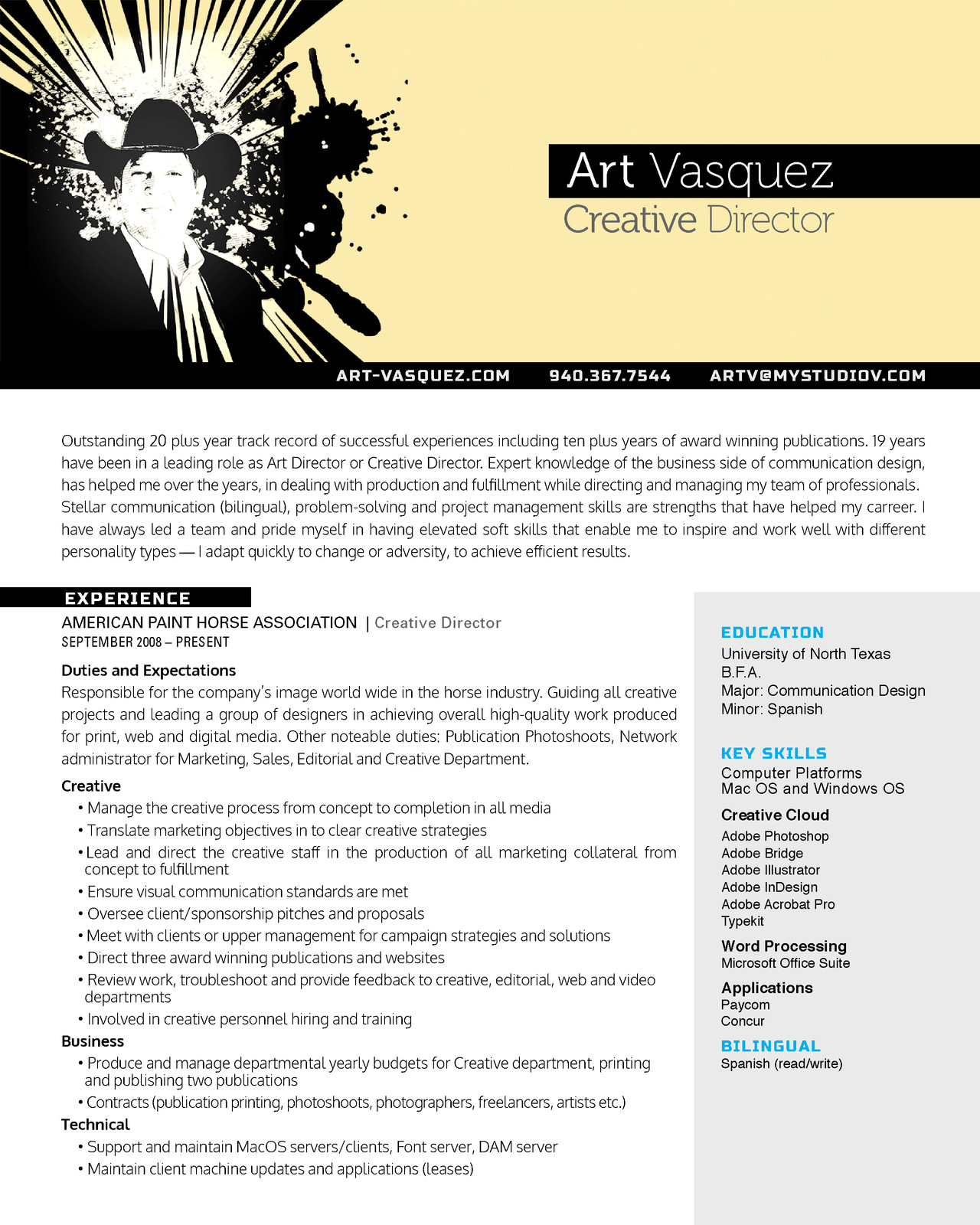duties of a creative director