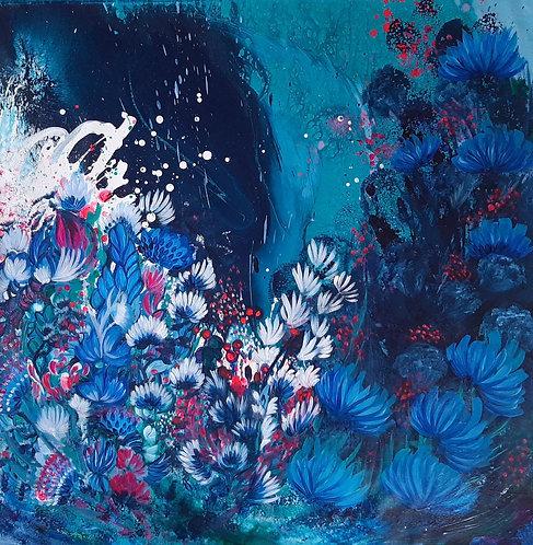 Midnight Sea Flora