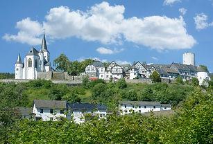 Die Burg in Nordrhei Westfalen