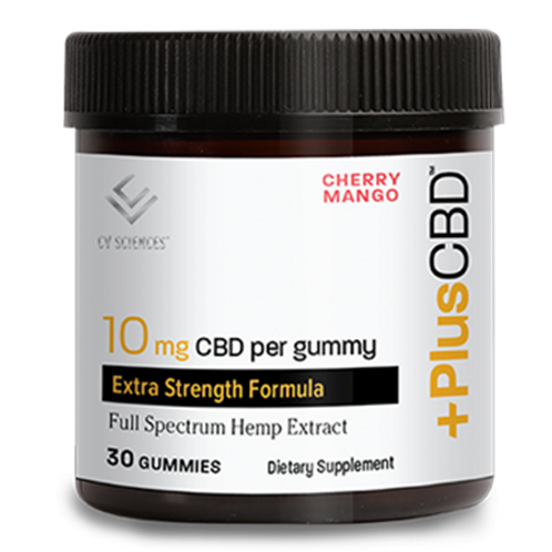 10mg CBD Cherry Mango Gummies 30ct