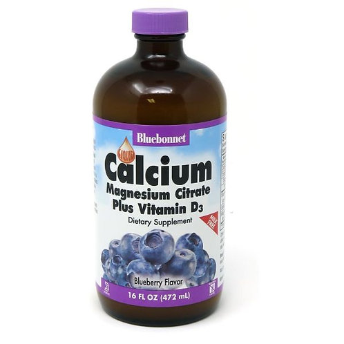 Liquid Calcium Citrate Magnesium  plus Vitamin D3 16 oz