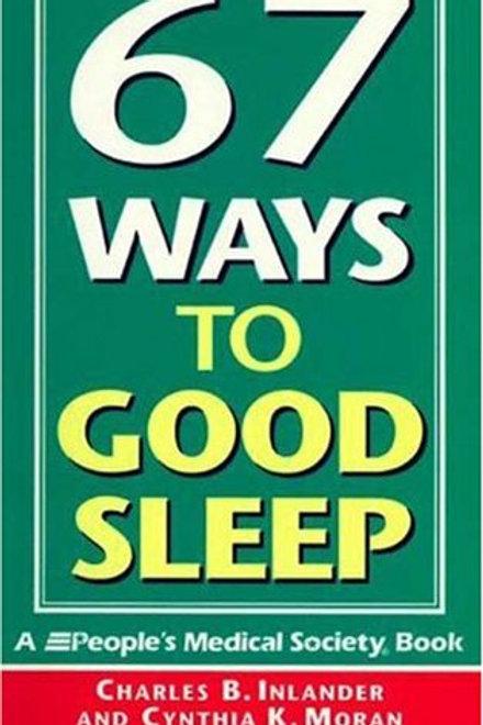 67 Ways to Good Sleep