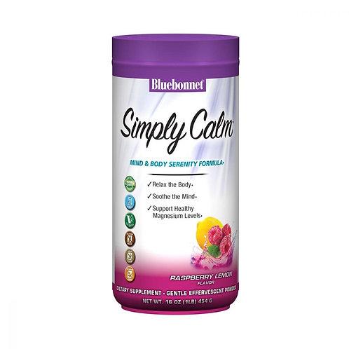 Simply Calm Magnesium Powder Raspberry Lemon