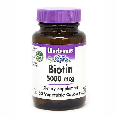 Biotin 5000 mcg 60 cap