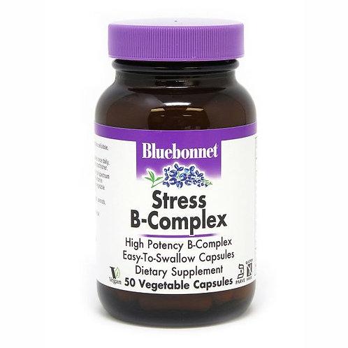 Stress B-complex 50 capsules blue bonnet