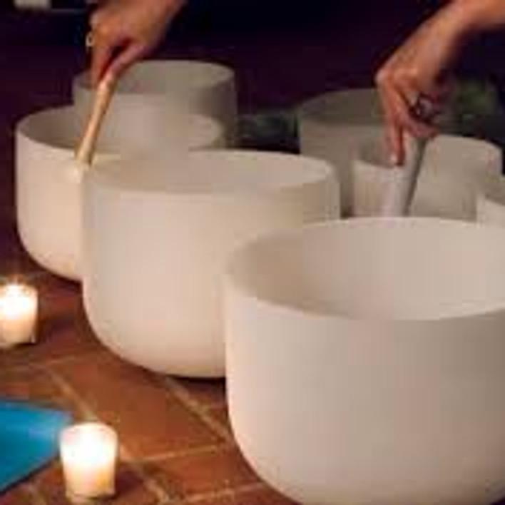 Crystal Singing bowl Sound Bath Thursdays
