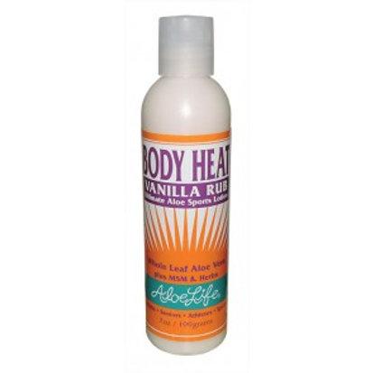 Body Heat Vanilla Rub 1 oz