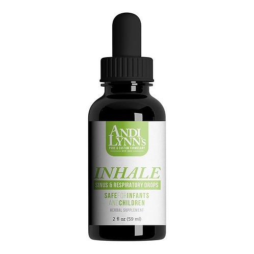AndyLynn's Inhale Sinus And Respiratory Drops