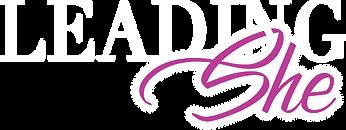 LeadingShe Podcast Logo | Female Empowerment Podcast