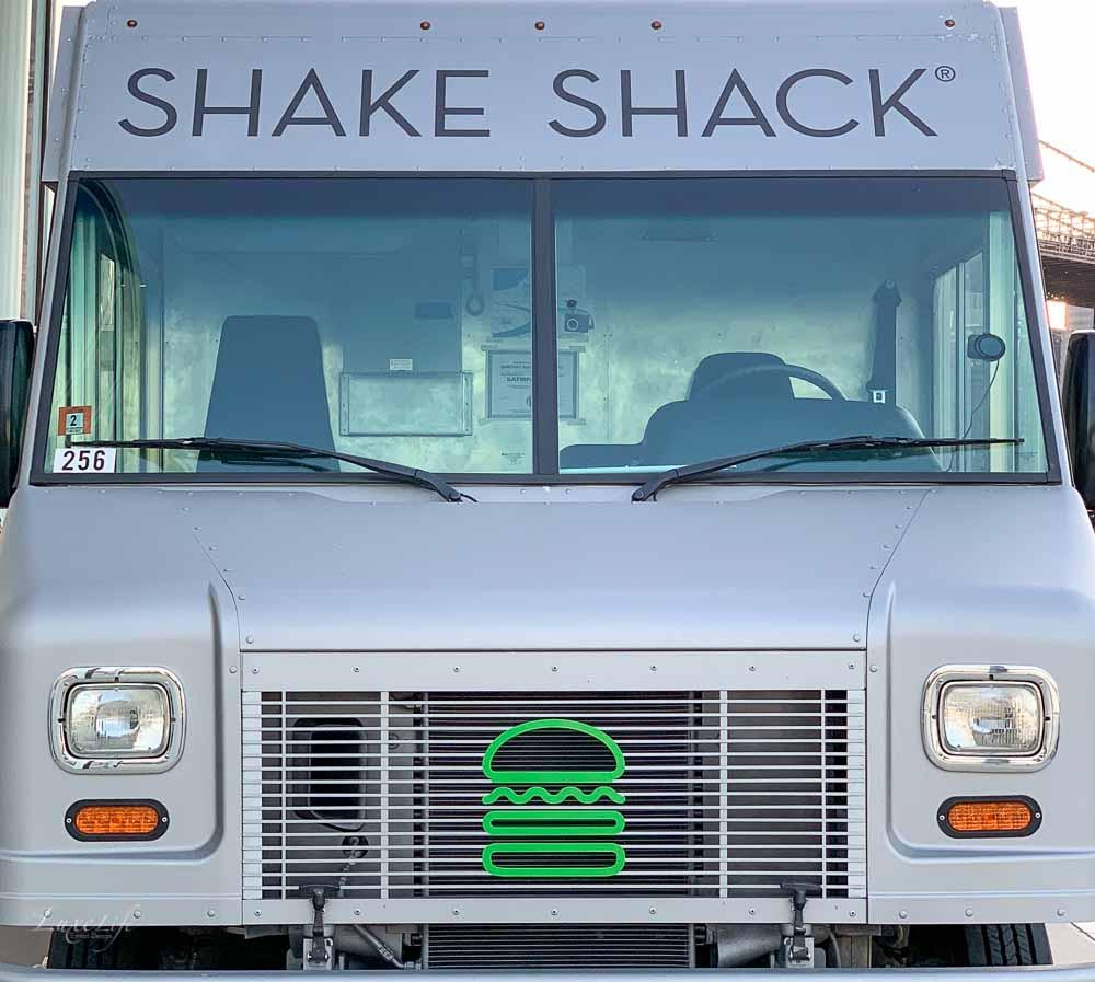 Shake Shake food truck at birthday party.