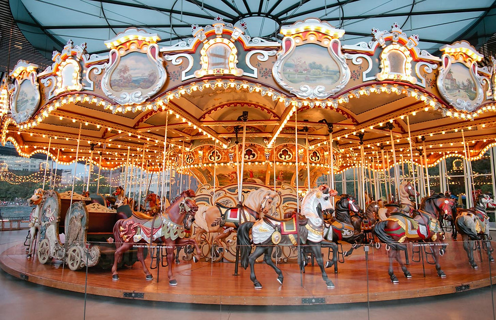 Jane's Carousel in DUMBO Brooklyn.