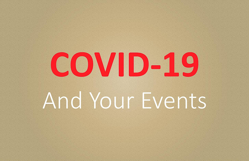 "Amidst the outbreak of COVID-19, popularly known as ""Coronavirus"", we have provided suggested steps on our blog that you should take to ensure COVID-19 global pandemic isn't a guest at your wedding or event! Image by The Luxe Life Event Design."
