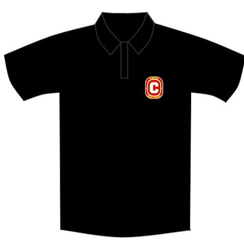 Black Uniform Polo Shirt