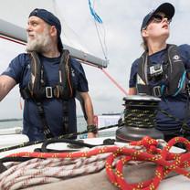Ocean Challenge on the water