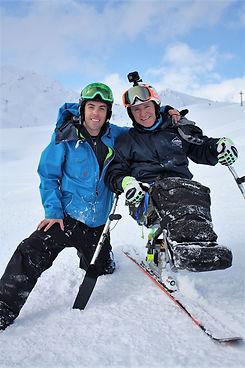Ski Buddy and Veteran