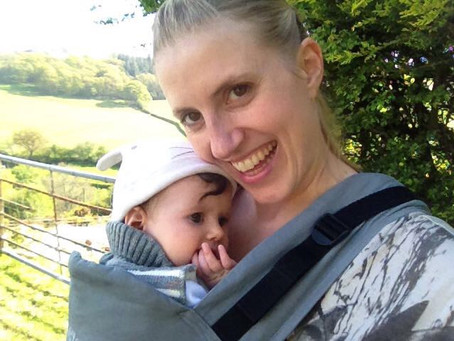 BECOMING A NEW MUM – How I've tried to stay (moderately) healthy, happy & sane!!
