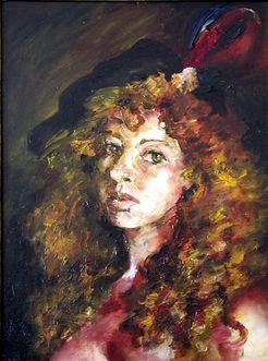 Anna Ladyzhenskaya Self Portrait
