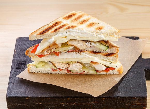 Клаб Сэндвич с мясом цыпленка