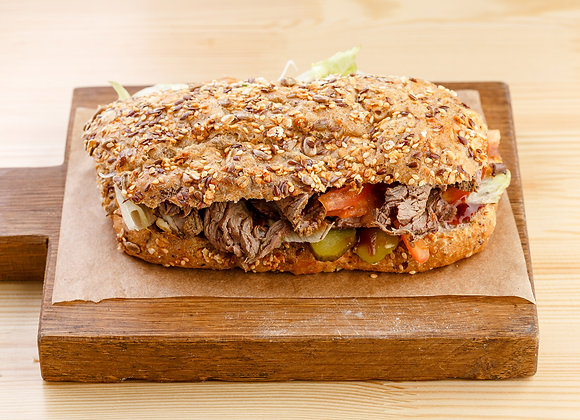 Сэндвич с рубленым мясом