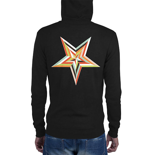 Star Light Unisex zip hoodie