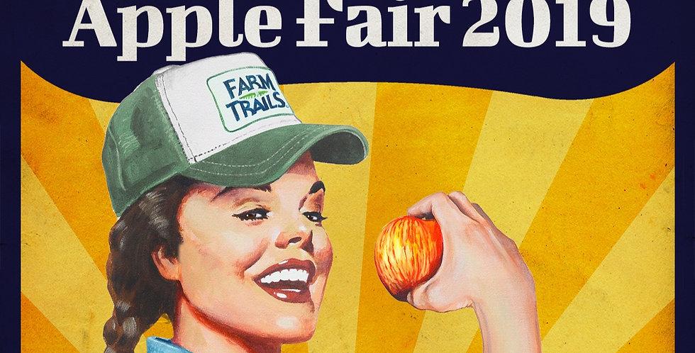 Gravenstein Apple Fair/August 17th and 18th/10am to 6pm