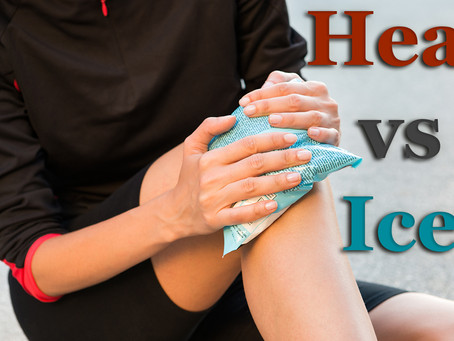 When To Use Heat or Ice For Your Aches and Pains