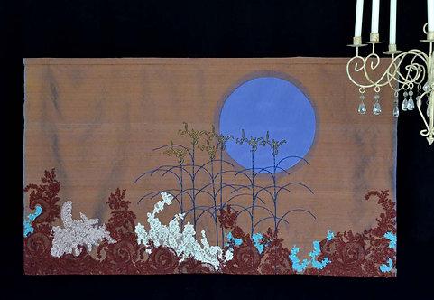 Lune bleue (loupe+détails+vidéo)