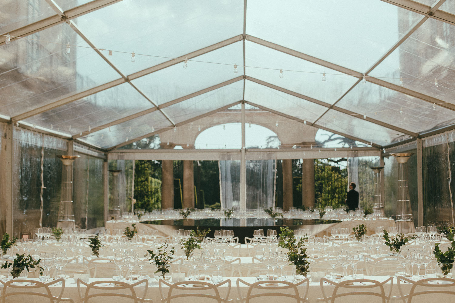 Table Arrangement Marquee