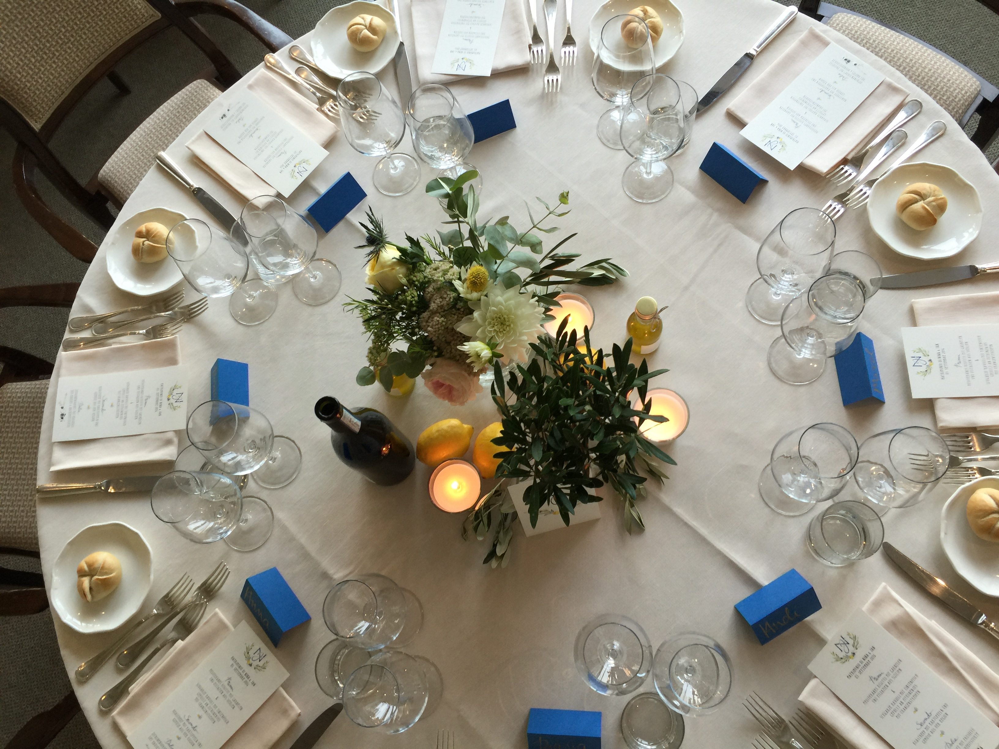 Combination table setting