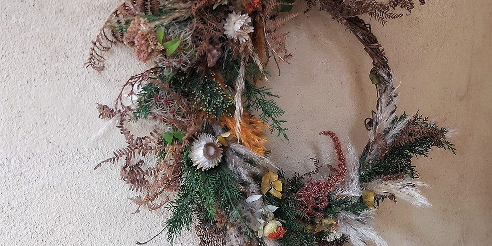 ZOOM Private Wreath Workshop