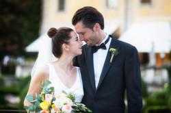 Bride Bouquet and Groom Boutonnière