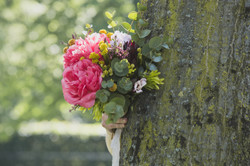Bouquet and Tree