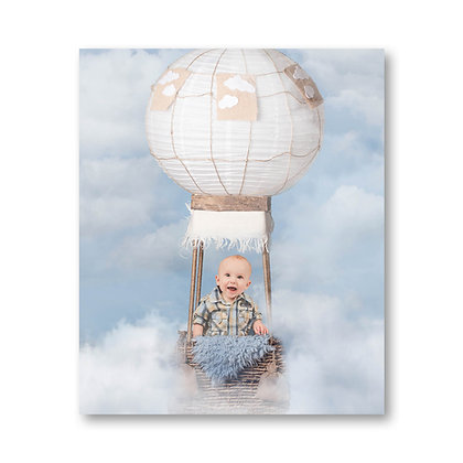 12x10 inch photo print