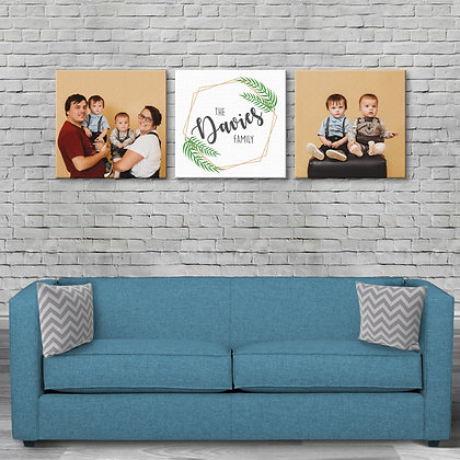 20x20 Inch Canvas Family Set