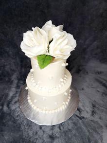 Miniature Covid Wedding Cake