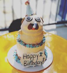 Custom Pug Cake Order