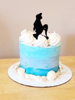 Elegnat Disney Birthday Cake