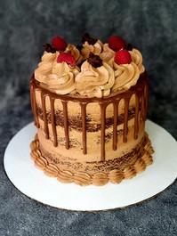 Keto-Licious Chocolate Raspberry Cake