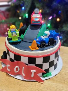 Racecar Birthday Cake