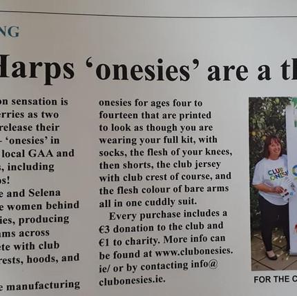 Onesies Make the news !