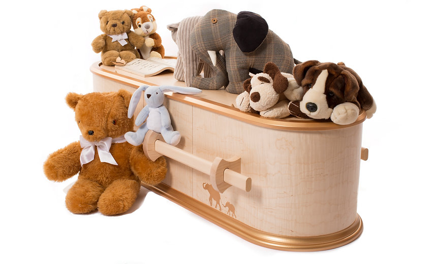 English Made Coffins The Ark - Children's Coffin