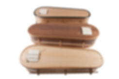 English Made Coffins The Oval Range