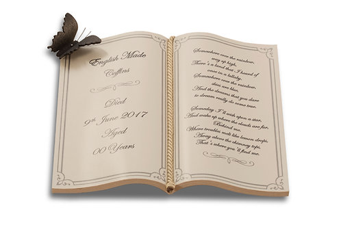 Additional Book Shaped Nameplate