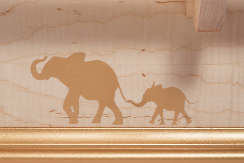 Gold Dust Elephant Decorations