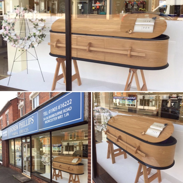 Andrew Phillips Funeral Services, Barbourne Road, Worcester