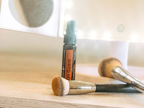 Hack to Keep Makeup Brushes Clean Between Washes