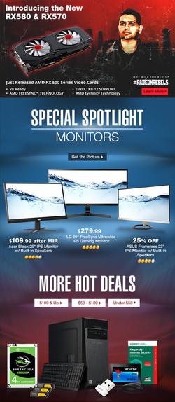Monitor Spotlight