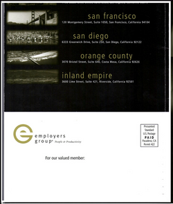 Employers Group Training Back Cover